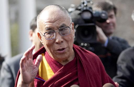 Dalajlama. Fot. Bloomberg