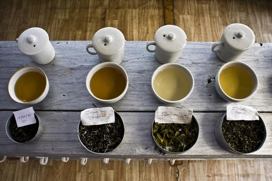 Herbata. Fot. Bloomberg