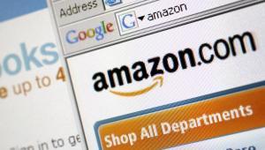 Strona internetowa wirtualnego domu handlowego Amazon