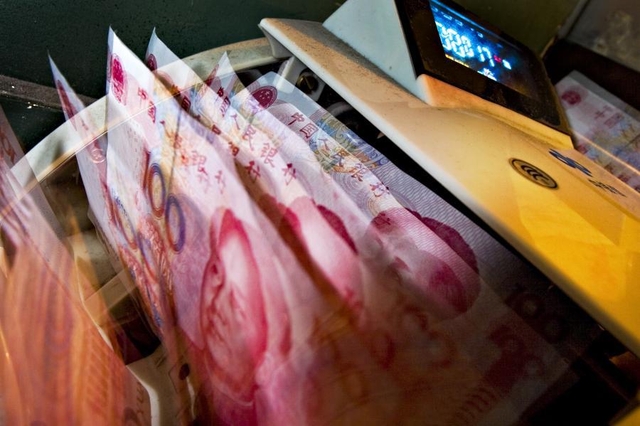 Chińska waluta w koszyku walutowym MFW, fot. Bloomberg