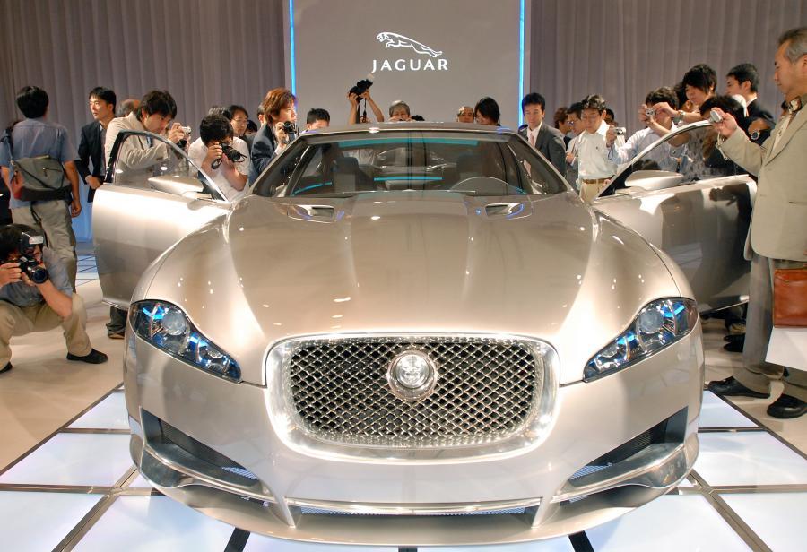 Jaguar. Fot. Bloomberg