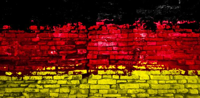 Flaga Niemiec, fot. criminalatt