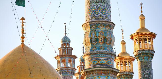Minarety w Kom, świętym mieście szyitów, Iran, fot. Vladimir Melnik