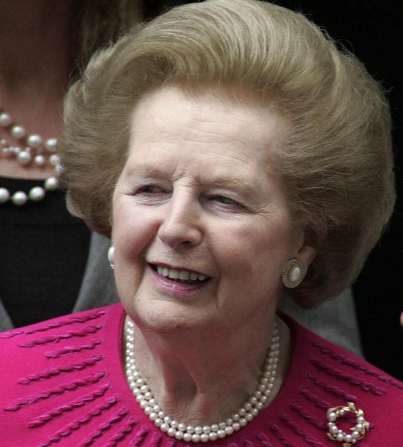 Margaret Thatcher. Fot. Bloomberg
