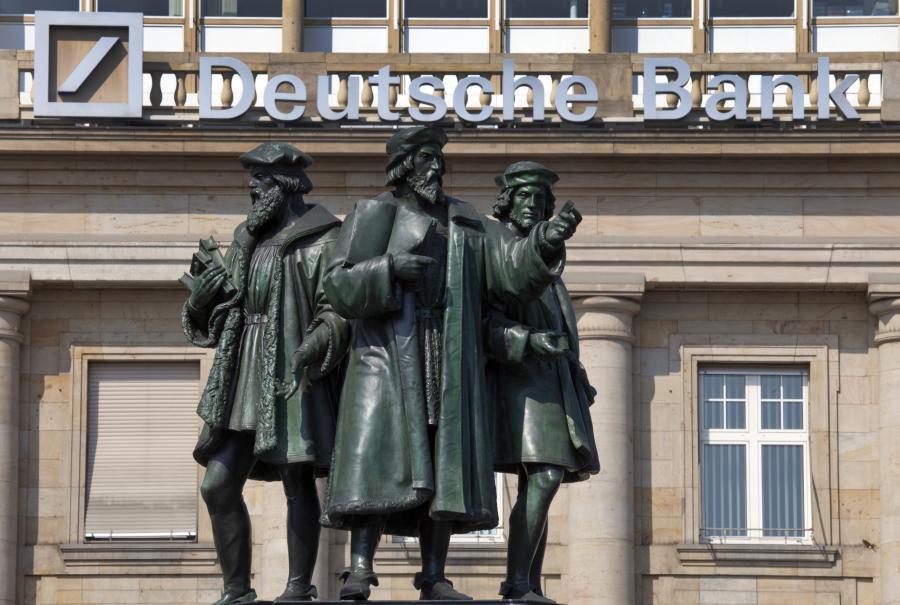 Deutsche Bank zapłaci pół mld dolarów kary za oszustwa podatkowe w USA