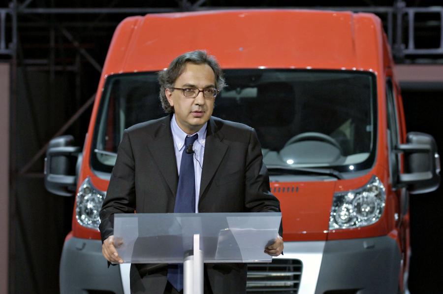 Prezes Fiata Sergio Marchionne