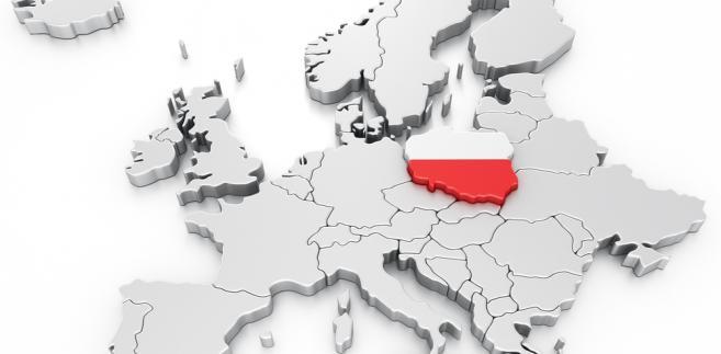 Polska na mapie Europy Fot. Shutterstock