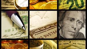 Finanse, waluty, dolar, euro, fot.  isak55