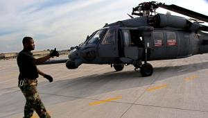 Śmigłowiec Black Hawk na wyposażeniu amerykańskiej armii. Fot. Bloomberg