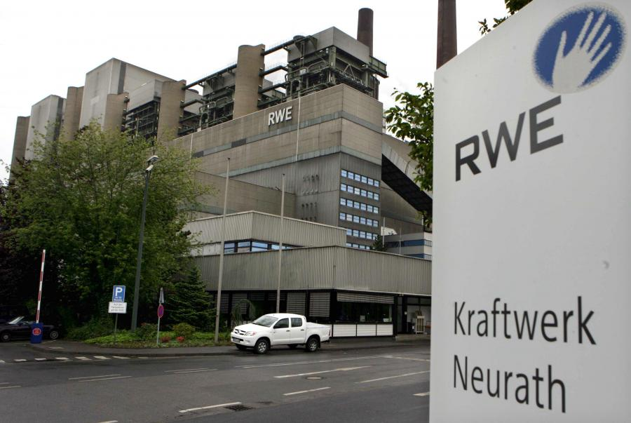 Elektrownia koncernu RWE w Niemczech