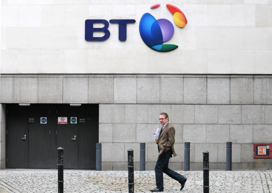 Główna siedziba British Telecom w Londynie