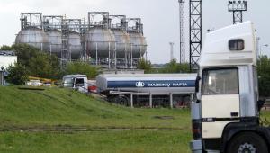 Rafineria w Możejkach. Fot. Bloomberg