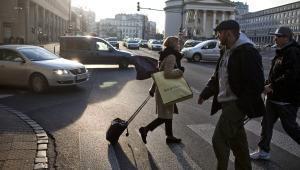 Plac Trzech Krzyży. Warszawa.  Fot. Bartek Sadowski/Bloomberg