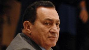 Rządzący Egiptem przez 20 lat Hosni Mubarak.