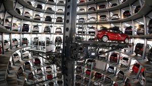 Centrum Volkswagen w Wolfsburgu w Niemczech fot. Jochen Eckel/Bloomberg