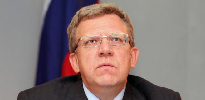 Minister finansów Rosji Aleksiej Kudrin