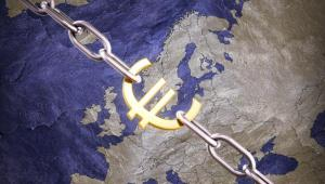 Euro, Mapa Europy. Fot. Shutterstock