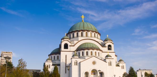 Cerkiew świętego Sawy w Belgradzie, Serbia.