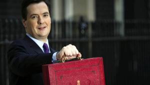 Minister Skarbu Wielkiej Brytanii George Osborne