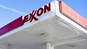 Stacja benzynowa Exxon Mobil w USA