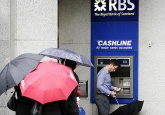 Bankomaty banku RBS