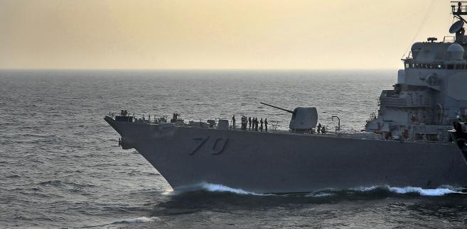 Amerykański niszczyciel USS Hopper