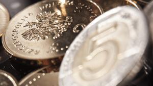 Polski złoty, fot. Bartek Sadowski/Bloomberg