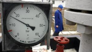 Ciśnieniomierz na magistrali gazowej w Rumunii, ktora będzie jednym krajów tranzytowych gazociągu Nabucco. Fot. Bloomberg