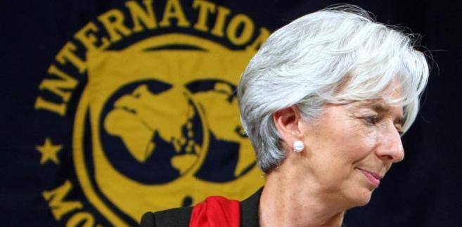 Christine Lagarde, dyrektor wykonawczy Międzynarodowego Funduszu Walutowego