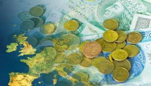 Polska waluta, złoty, Europa. Fot. Shutterstock