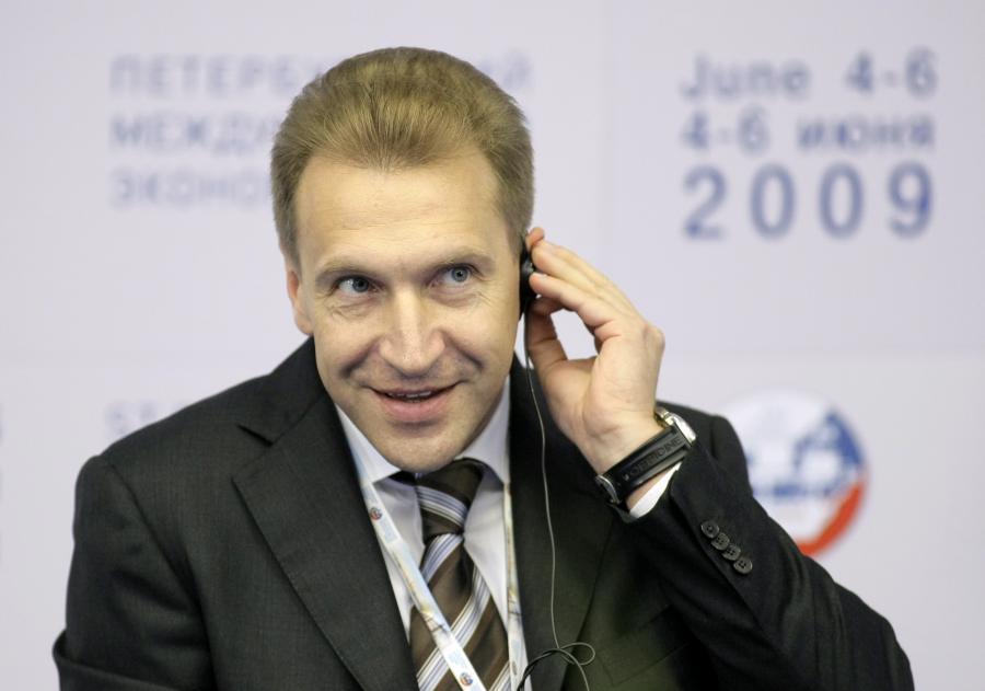 I wicepremier Rosji Szuwałow