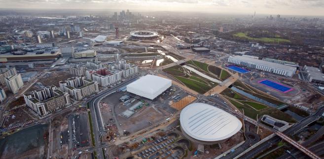 Park Olimpijski w Londynie.