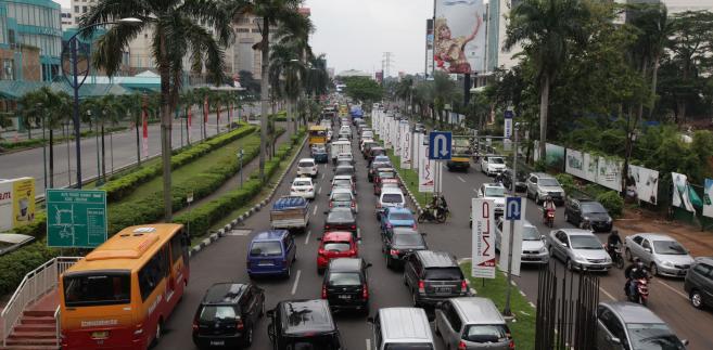 Dżakarta, Indonezja, fot. Dimas Ardian/Bloomberg