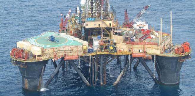 Platforma wrtnicza w Nigerii, fot. Addax Petroleum via Bloomberg News