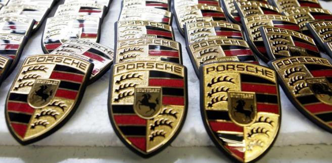Znaczek Porsche