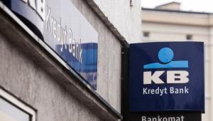 Logo Kredyt Banku, fot. Bartek Sadowski/Bloomberg