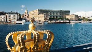 Widok na pałac królewski w Sztokholmie, fot. Kropotov Andrey