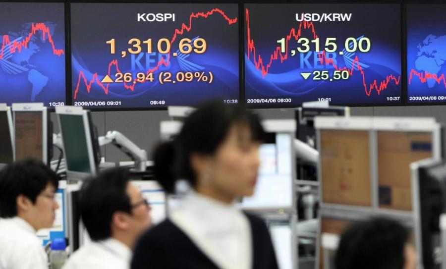Indeksy w Azji poszły w górę