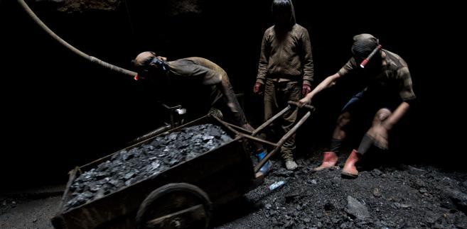 Kopalnia węgla w Indiach, fot. Brent Lewin/Bloomberg