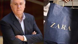 Amancio Ortega założyciel marki Zara