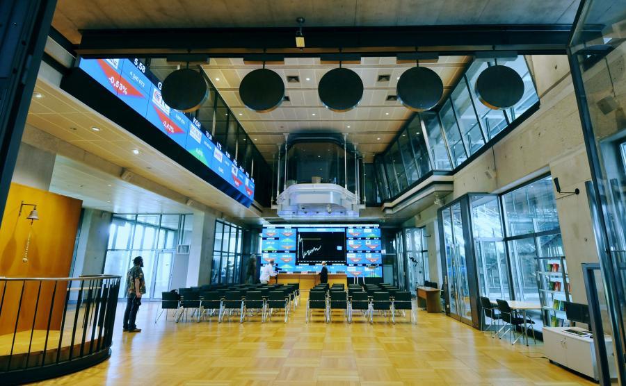 GPW. Fot. Bloomberg