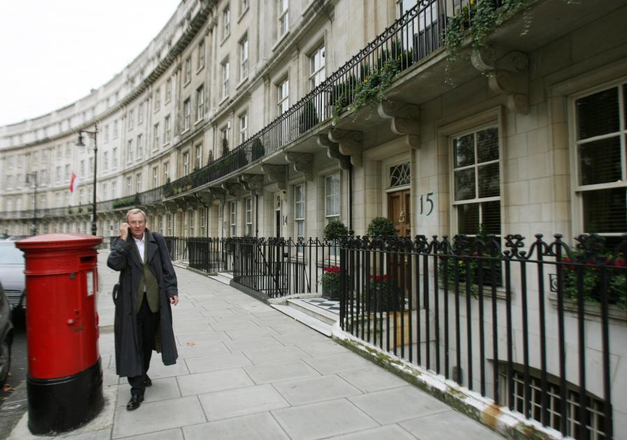 Luksusowe apartamenty w londyńskim rejonie Knightsbridge. Fot. Bloomberg