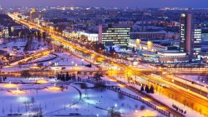 Mińsk, stolica Białorusi.