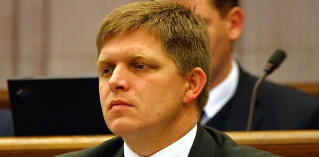Premier Słowacji Robert Fico