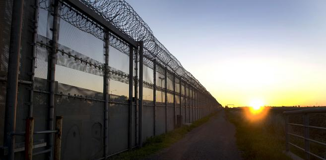 Mur na granicy Meksyk USA