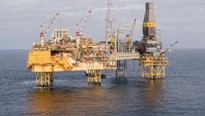 Platforma Total SAs Elgin na Morzu Północnym