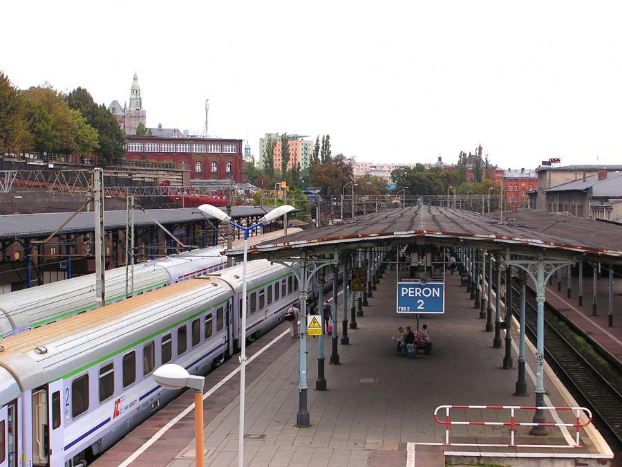 Dworzec kolejowy w Szczecinie fot. sxc.hu