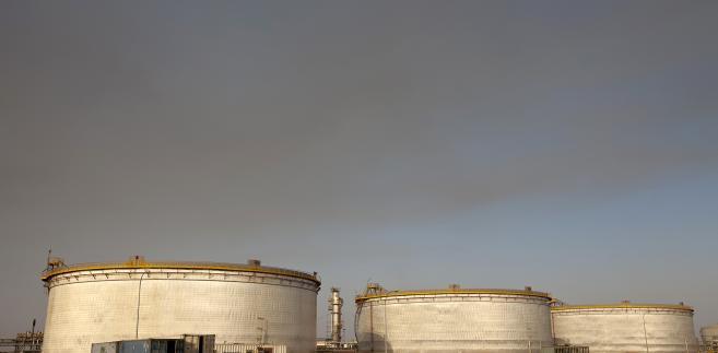Zbiorniki na ropę w Sudanie
