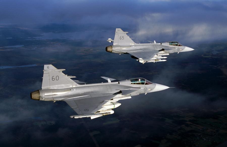 Szwedzki myśliwiec Gripen