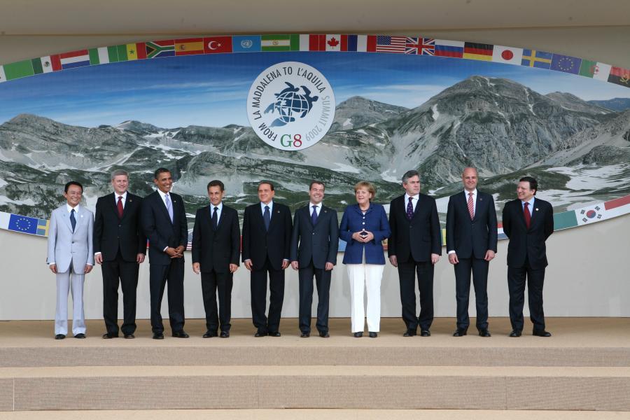 Przywódcy państw szczytu G-8